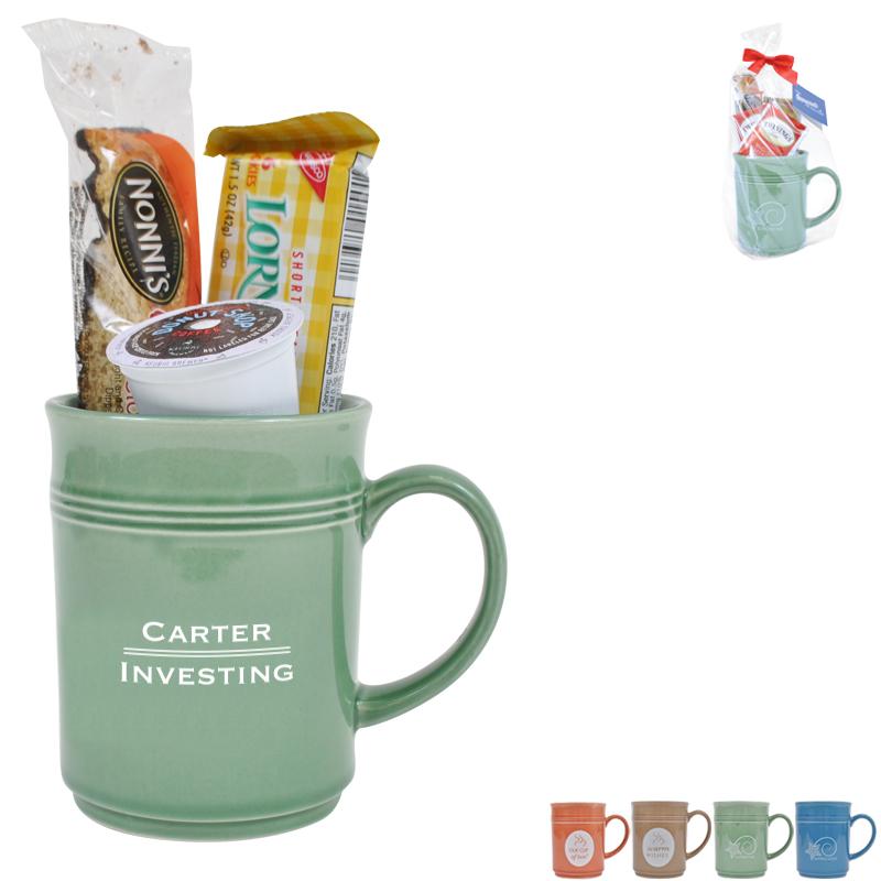 Cup of Thanks K-Cup Coffee 14oz. Mug Gift Set, Custom