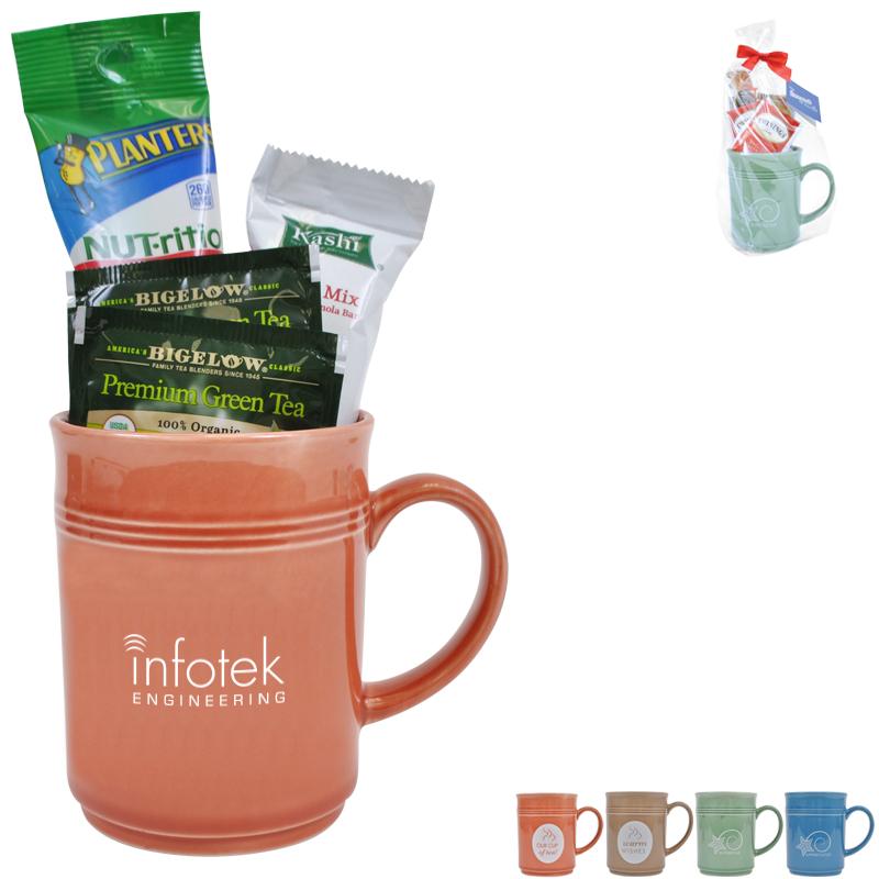 Cup of Thanks Healthy Tea 14oz. Mug Gift Set, Custom