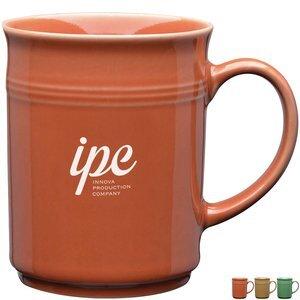 Earth Tone Ceramic Thank You Mug, 14oz.