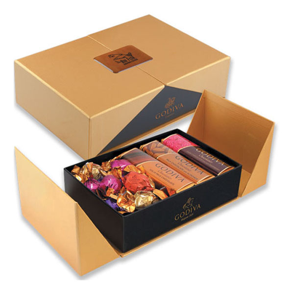 Golden Gift Box of Godiva® Chocolates