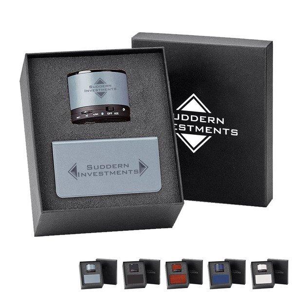 Fabrizio Bluetooth Speaker & Power Bank (6,000 mAh) Gift Set