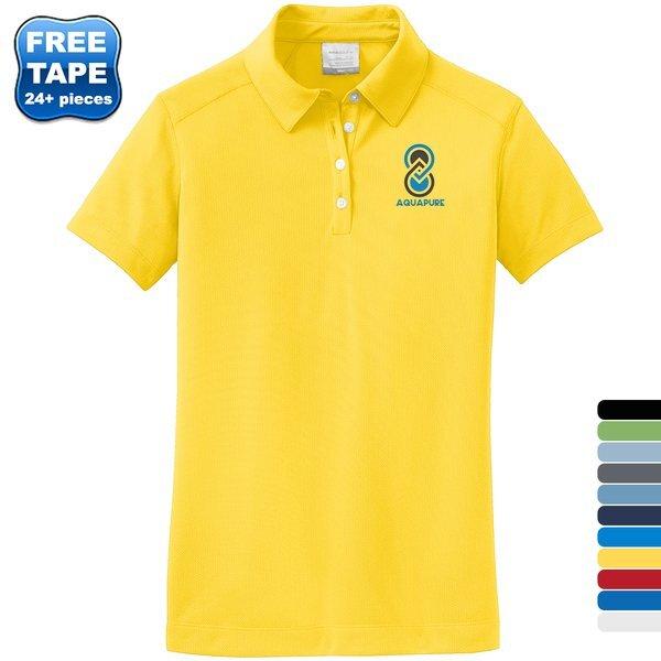 NIKE® Golf Dri-FIT Pebble Texture Ladies' Sport Shirt