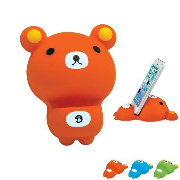 Silicone Bear Phone Holder