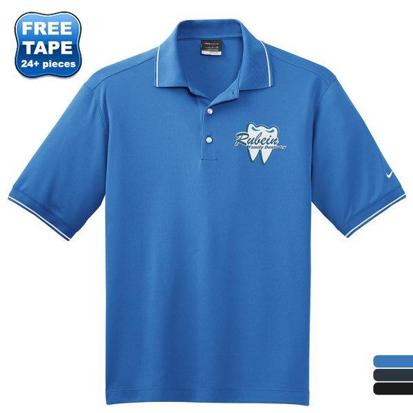 NIKE® Golf Dri-FIT Classic Tipped Men's Sport Shirt