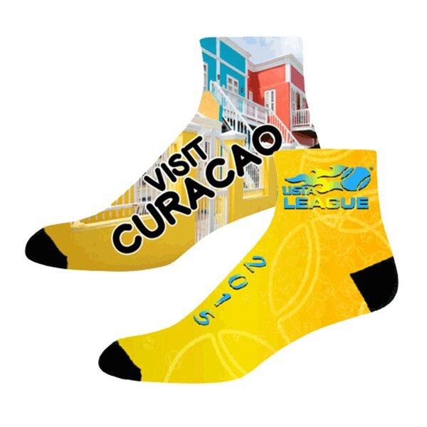 Full Color Quarter Socks