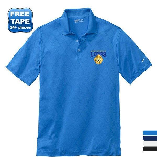 NIKE® Golf Dri-FIT Cross-Over Texture Men's Sport Shirt