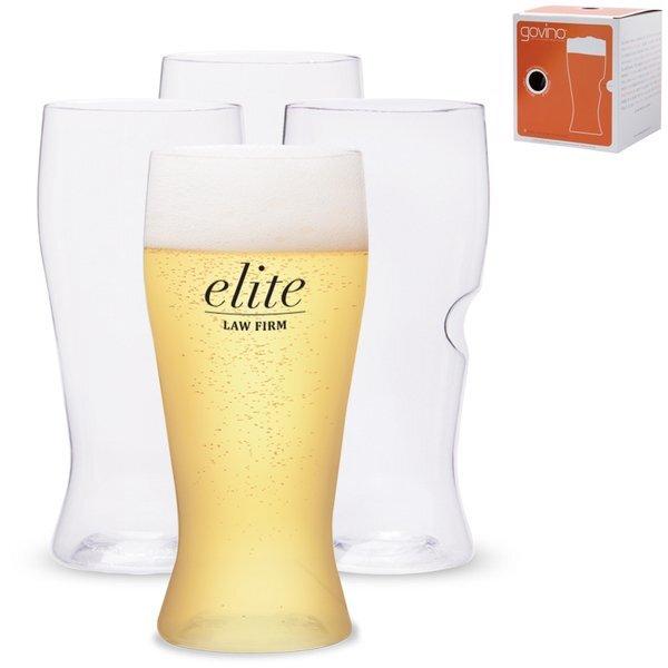 govino® Shatterproof Beer Glass 4 Pack, 16 oz.