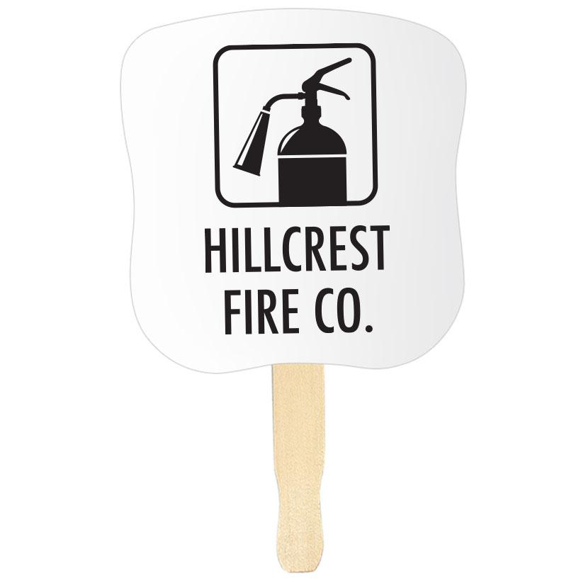 Hourglass Hand Fan