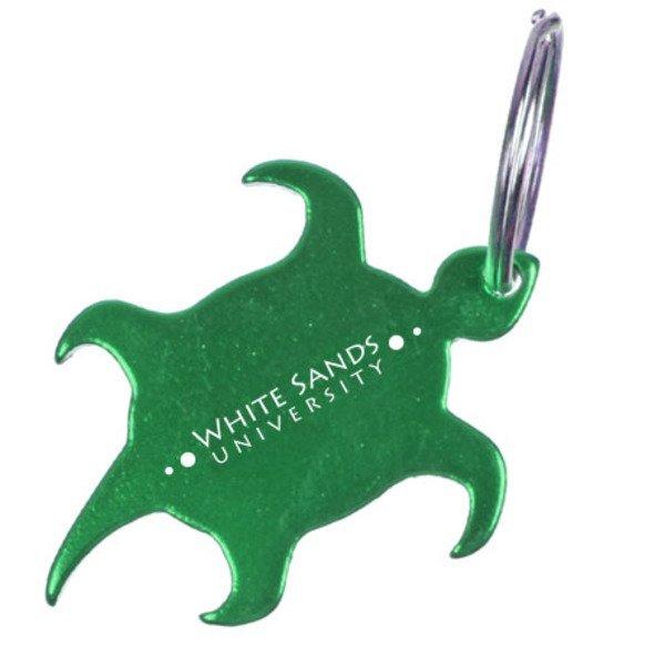 Turtle Bottle Opener Keychain
