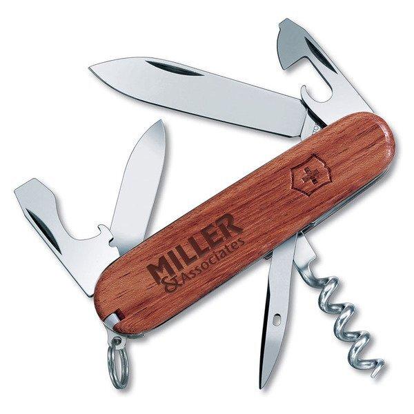 Spartan Hardwood Swiss Army® Knife