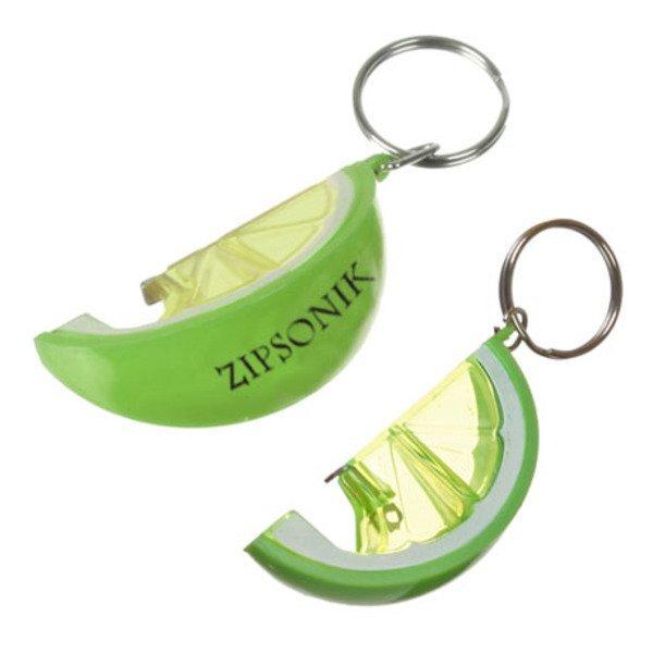 Lime Bottle Opener Keychain