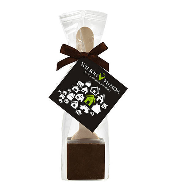 Hot Chocolate on a Spoon, Belgian Dark Chocolate