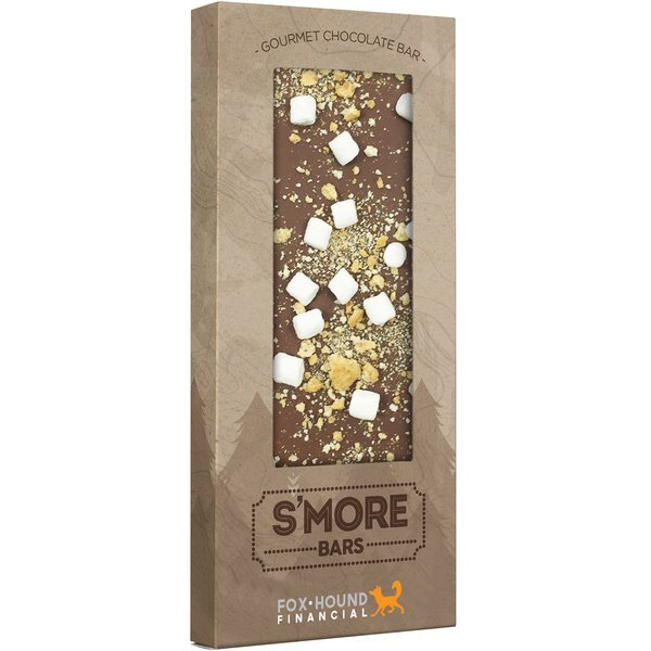 Gourmet Belgian Chocolate Bar with S'mores