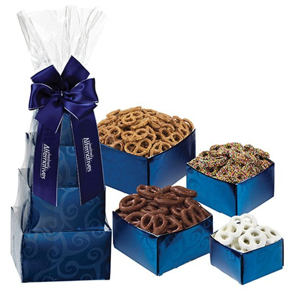 Sweet and Salty Gift Tower