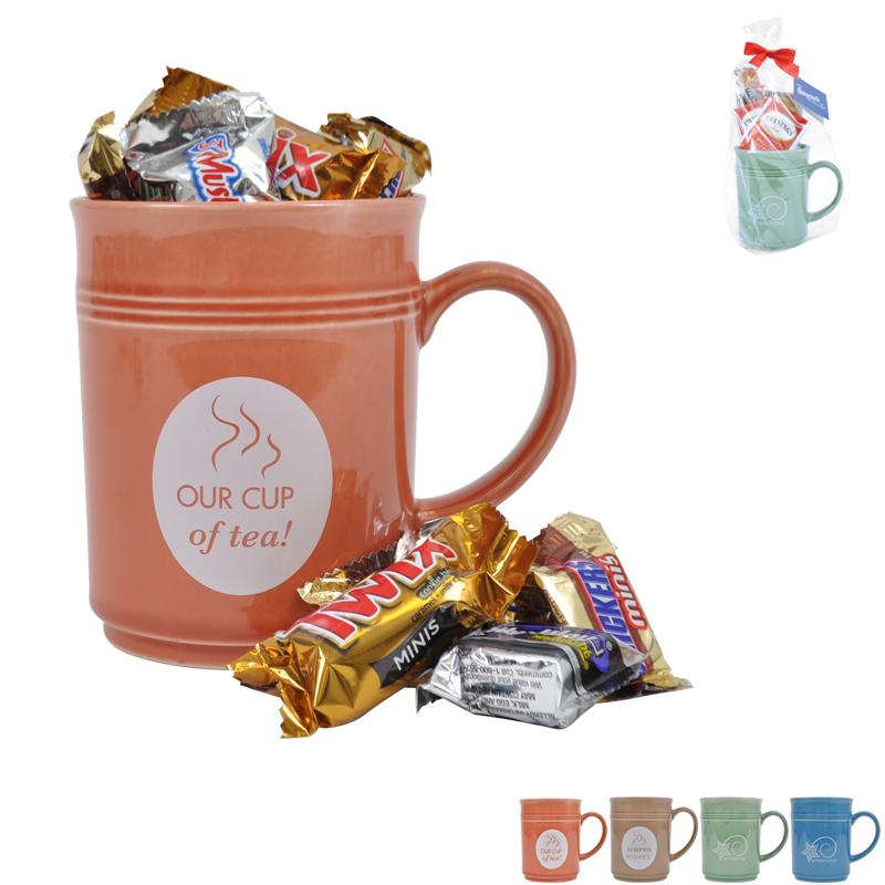 Cup of Thanks Mix Chocolates 14oz. Mug Gift Set, Stock