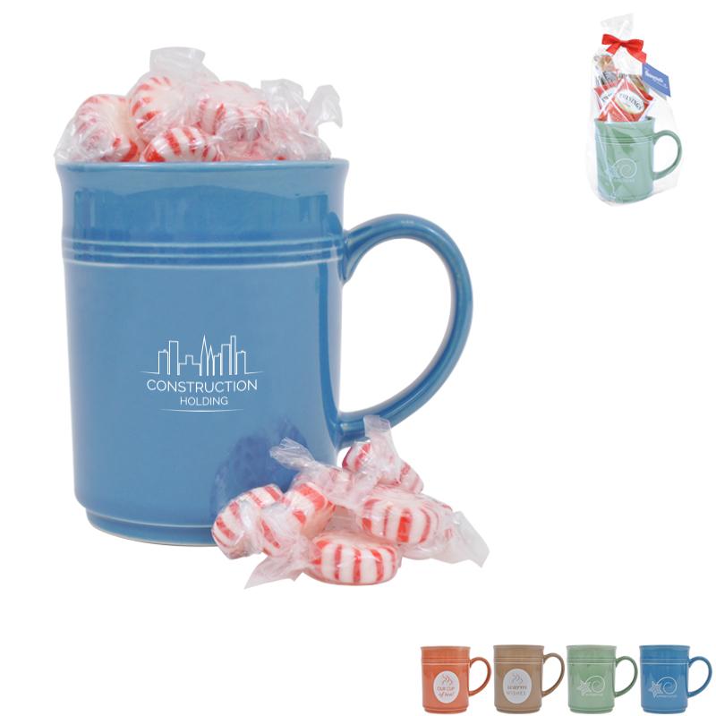 Cup of Thanks Starlight Mints 14oz. Mug Gift Set, Custom