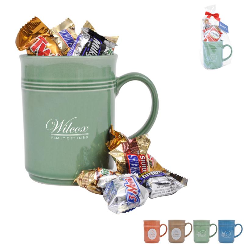 Cup of Thanks Mixed Chocolates 14oz. Mug Gift Set, Custom