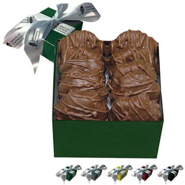 Classic Singles Gift Box w/ Caramel Cashew Turtles