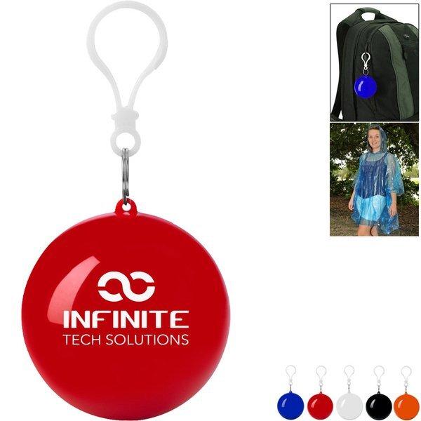 Poncho Ball Key Chain