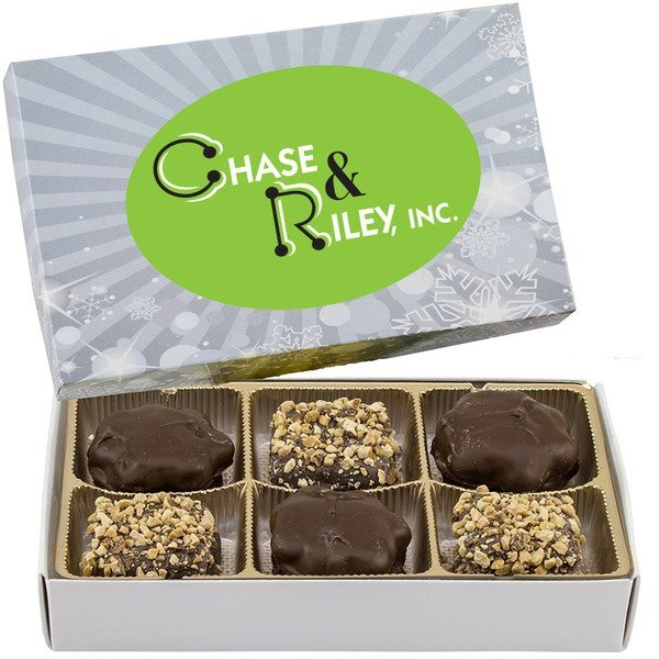Rectangle Custom Candy Box w/ Turtles & Buttercrunch