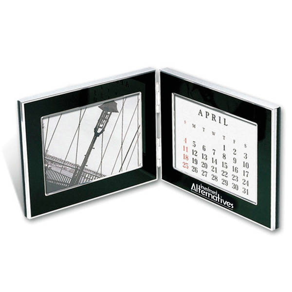 "Folding Photo Frame & Perpetual Calendar, 4"" x 6"""