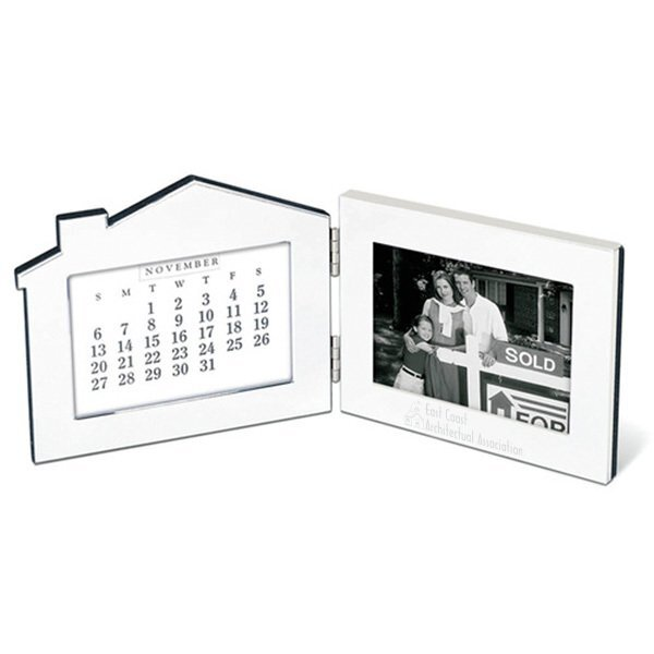 "Forever Home Photo Frame & Perpetual Calendar, 4"" x 6"""