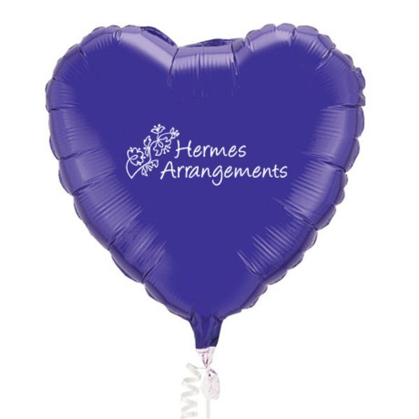 Microfoil Heart Balloon, 18""