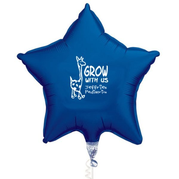 Microfoil Star Balloon, 20""