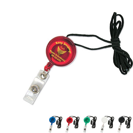 Neck Secure A Badge™ Badgeholder, Slide Clip & Lanyard