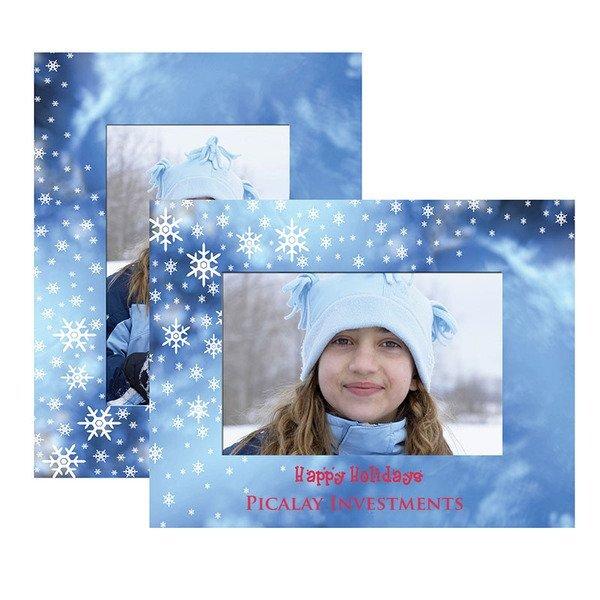Winter Theme Paper Easel Frames