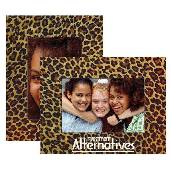 Leopard Theme Paper Easel Frames