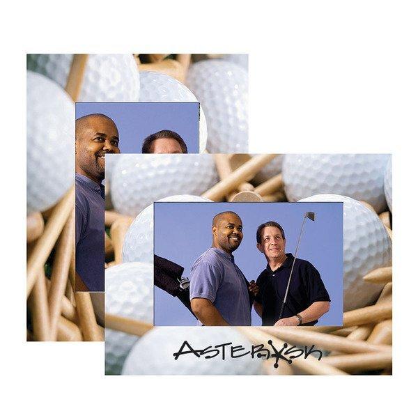 Golf Theme Paper Easel Frame