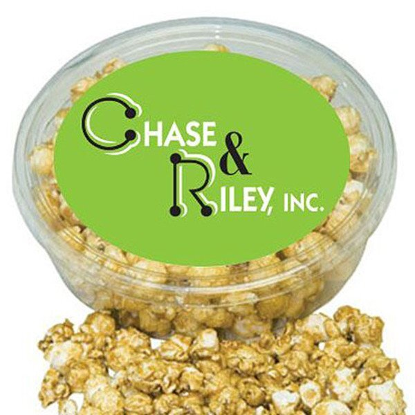 Designer Plastic Tray w/ Caramel Popcorn