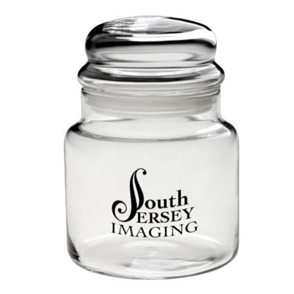 Apothecary Jar with Dome Lid, 16oz.