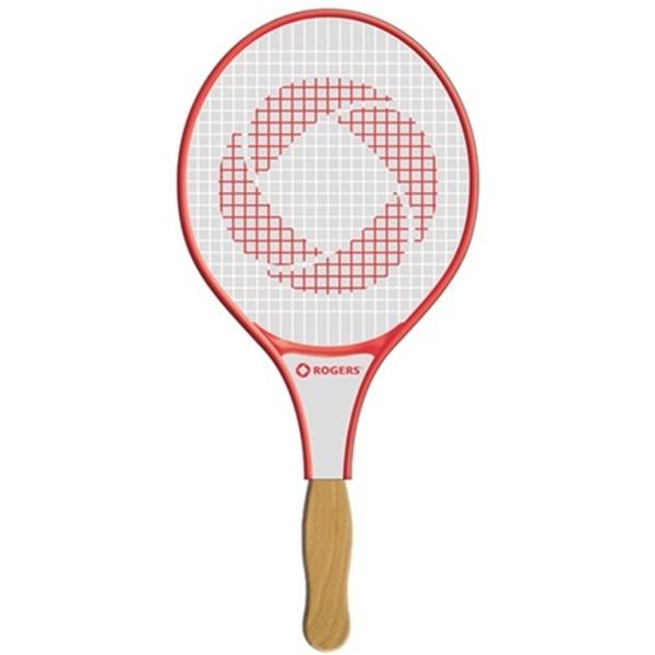 Tennis Racket Hand Fan