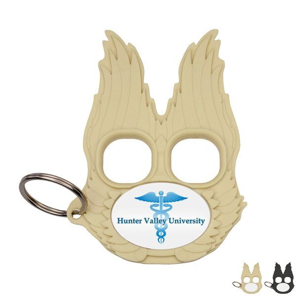 Guardian Angel Self Protection Keychain, Full Color