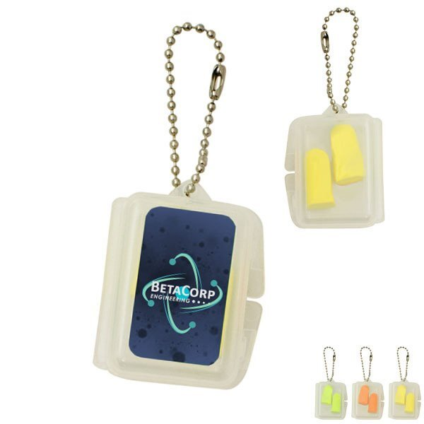 Foam Ear Plugs in Rectangle Case
