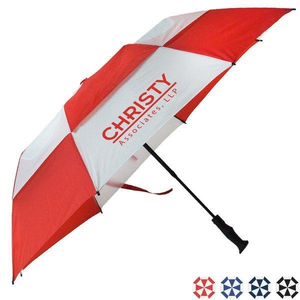 "Vented Fiberglass Umbrella, 58""Arc"