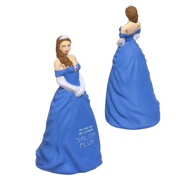 Princess Blue Dress Stress Reliever