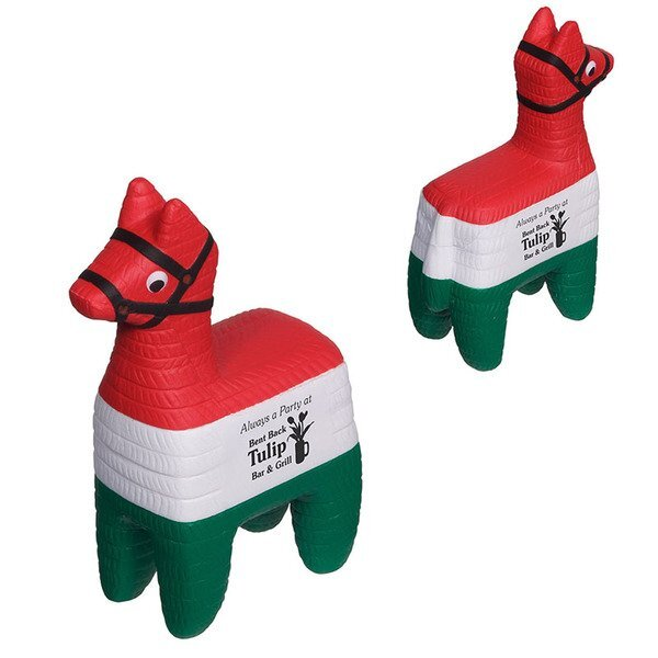 Red, White, Green Traditional Pinata Stress Reliever