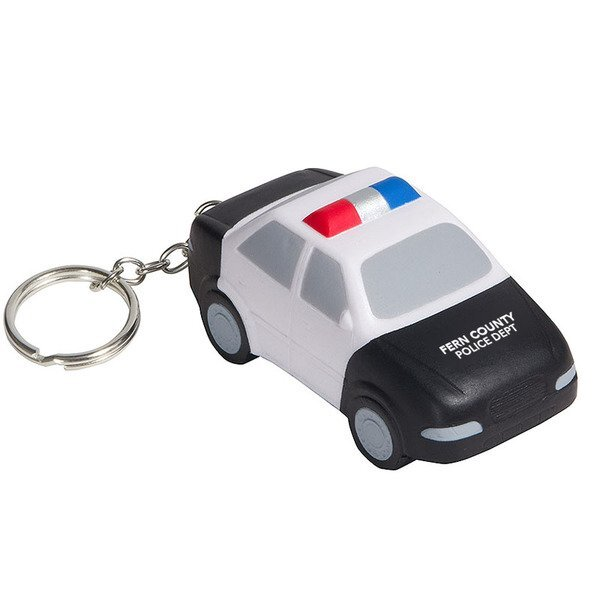 Police Car Key Chain Stress Reliever