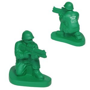 Green Army Man Stress Reliever