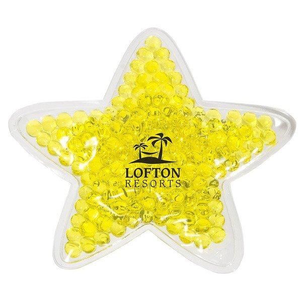 Yellow Star Aqua Pearls Hot & Cold Pack