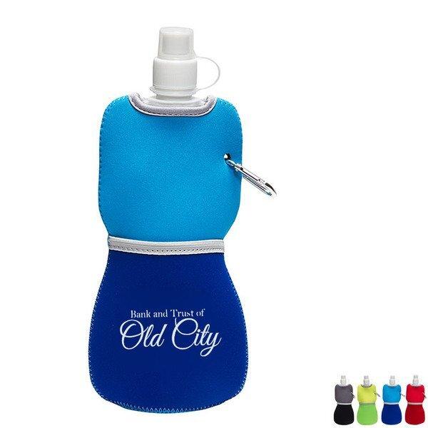 Flex Water Bottle With Neoprene Insulator, 16oz.