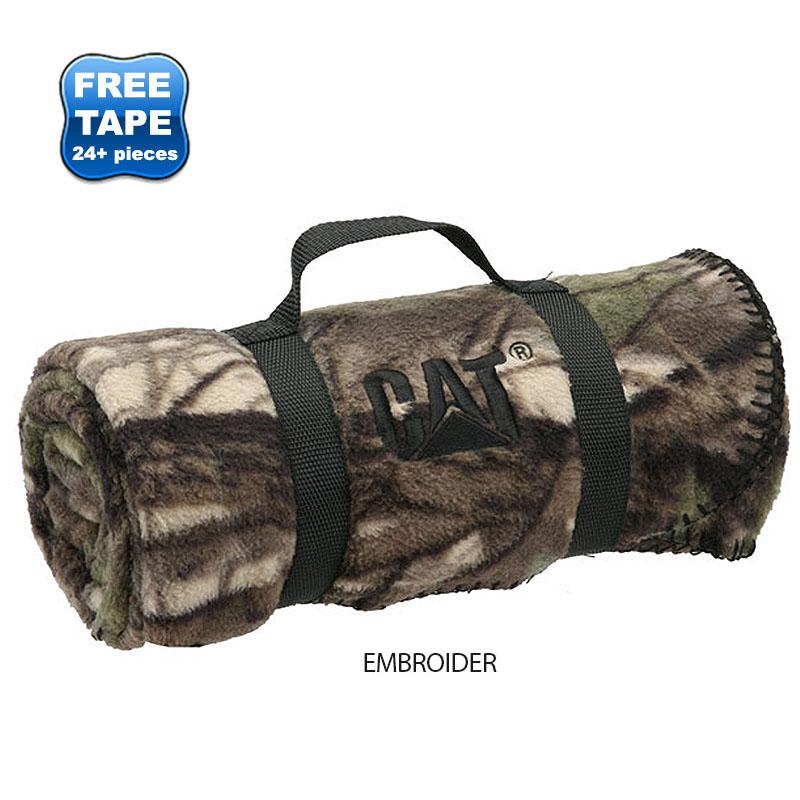 "Camo Nature Fleece Blanket, 50"" x 60"""