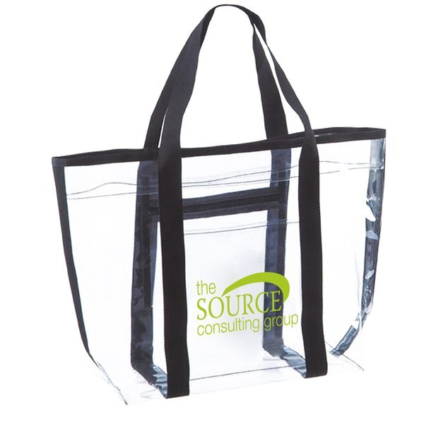 Classic Clear Vinyl Tote