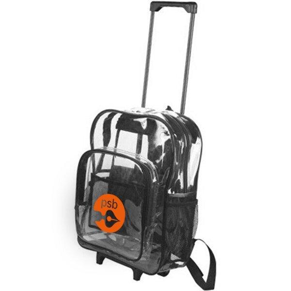 Clear Wheeled Backpack
