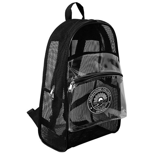 See Through Mesh Backpack