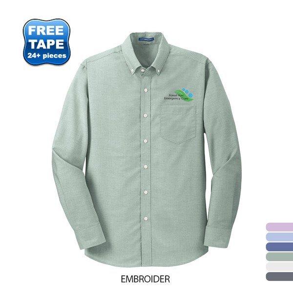 Port Authority® SuperPro™ Oxford Men's Shirt