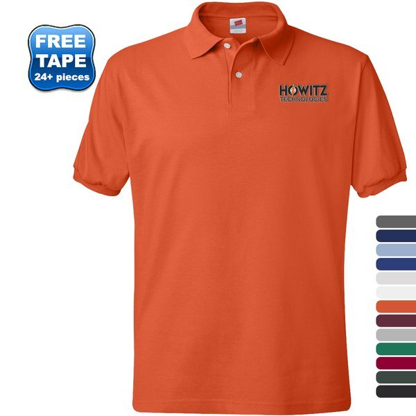 Hanes® Blended Cotton Poly Jersey Sport Shirt